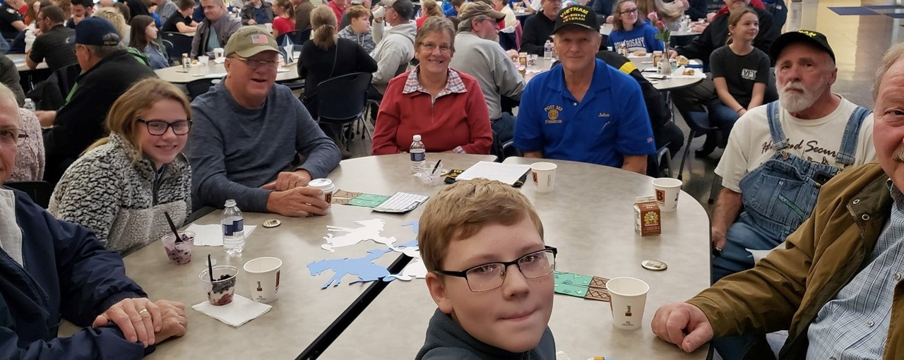 Veteran's Day Breaksfast at the Middle School