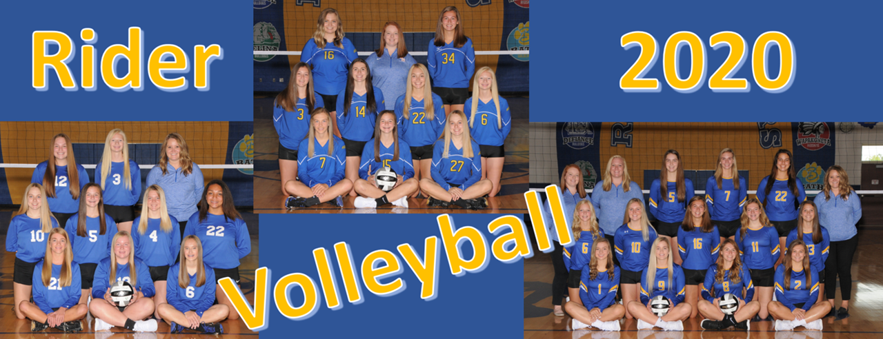 2020 9th grade, JV, and Varsity Volleyball team pictures
