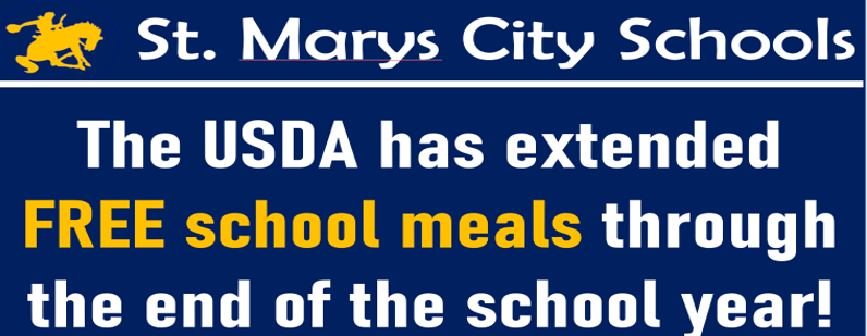 free school meals extended through end of school year