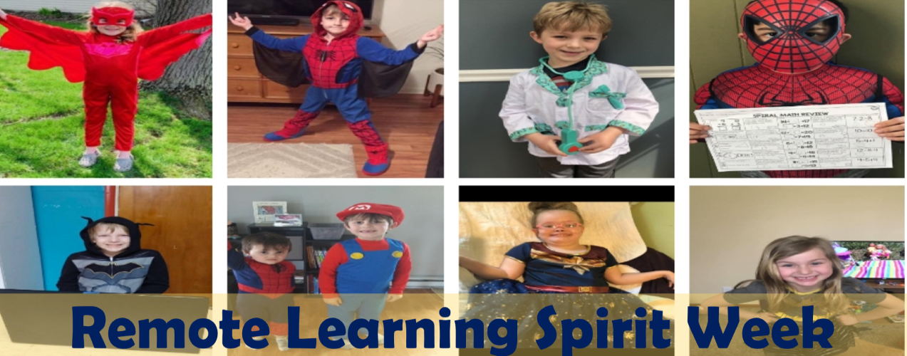 SMPS remote learning spirit week: dress like a superhero