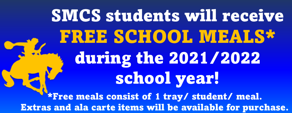 free meals during the 2021-2022 school year